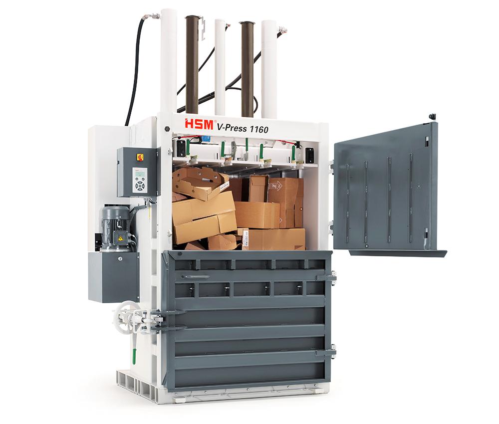 V-Press 1160 - Doppeltüre