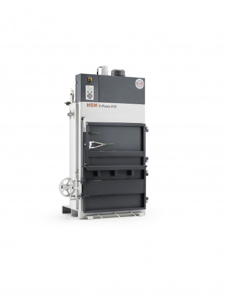 Vertikale Ballenpresse HSM V-Press 610