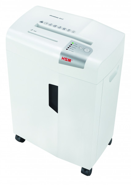 Document shredder HSM shredstar X17